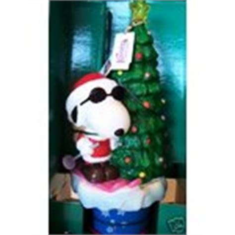 snoopy twirling tree topper by mr christmas peanuts 11