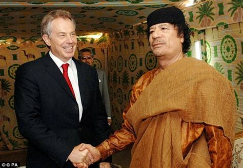 biography book on gaddafi questions for tony blair over claims he launched secret