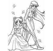 Dibujos Animados Para Colorear Sailor Moon