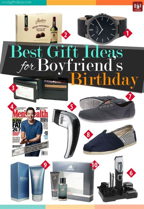 best gift ideas for boyfriend s birthday vivid s
