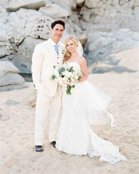 27 Stunning Beach Wedding Dresses   Martha Stewart Weddings