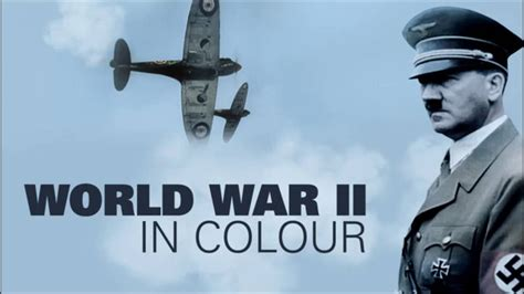 world war ii in color world war ii in colour theme extended