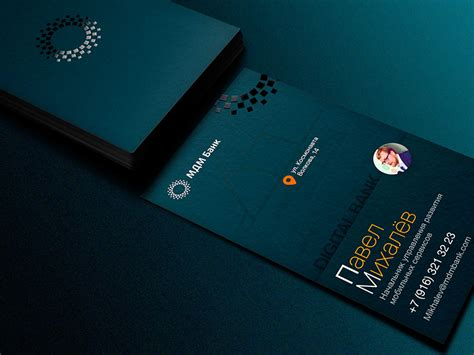 business card bank mdm bank business card inspiration cardfaves