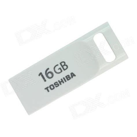 Toshiba Flash Drive Duo 16gb White toshiba transmemory usrg 016gs wh usb 2 0 flash drive disk white 16gb 13 90