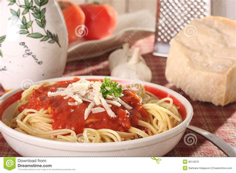 home made spaghetti royalty free stock images image 8514979
