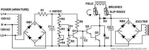 automatic voltage regulator avr for generators