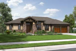 Modern Style Garage Plans Prairie Style House Plan 3 Beds 3 5 Baths 2694 Sq Ft