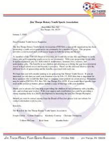 Sponsorship Letter Template For Sports Team by Best Photos Of Youth Sports Donation Request Letter