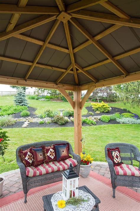 backyard pavilion kits wooden pavilion kits for your backyard yardcraft