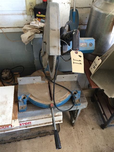 Table Saw Modern Ts 8 4 ryobi 14 quot miter saw owner says it works model ts 380 estate auction 2 loaded