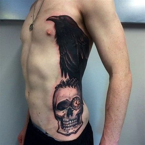 raven and skull tattoo 1000 images about ideas on koi