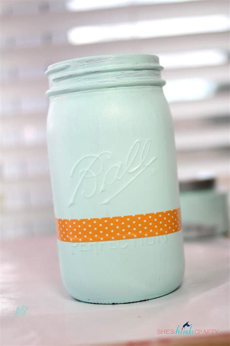 acrylic painting jars tips and tricks for painting jars shes kinda crafty