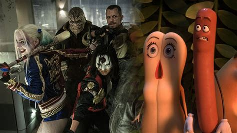 movie box office march 2016 sausage party can t top suicide squad at box office