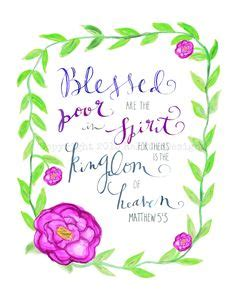 jesus poor in spirit poster blessed are those who mourn by rakstardesigns on etsy