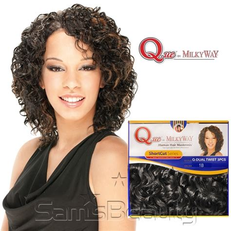 milky way hair short cut series short cut curly hairstyles with weave hairstyles