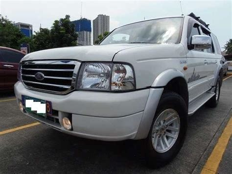Cover Ford Everest 4x2 Xlt ford everest 41 used leather seat cover ford everest