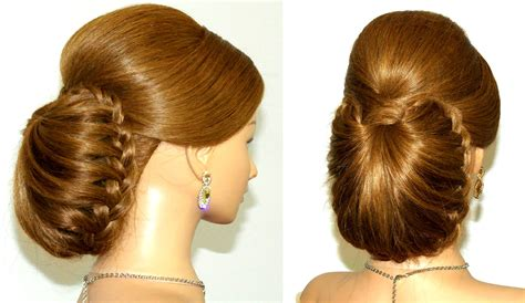 Hairstyles Images by Braided Updo Hairstyle For Hair Tutorial