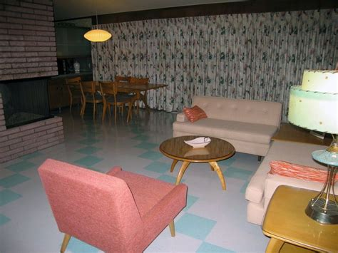 this archetypical 50 s rec room basement features the 61 best mid century basements images on pinterest
