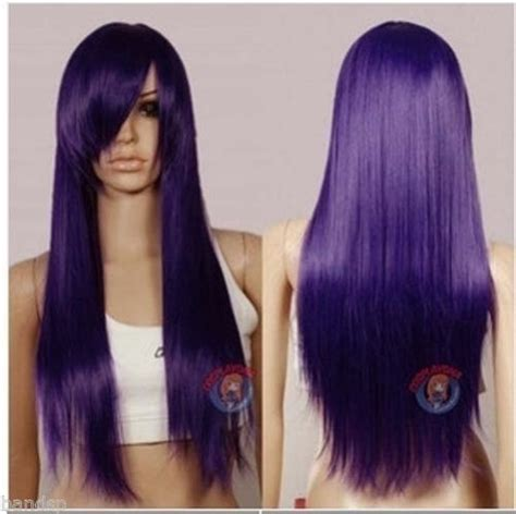 weave hairstyles with purple tips 9 best images about purple hair ideas on pinterest