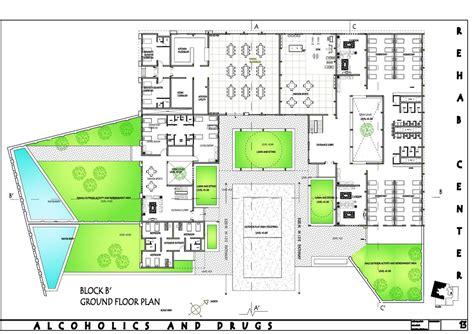 rehabilitation center floor plan rehabilitation centre for alcoholics and drugs aafak