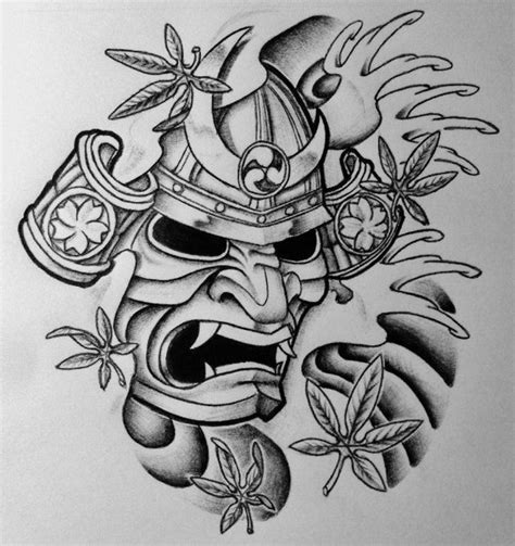 hannya mask tattoo and meaning masque samurai tattoo sur pinterest masque tattoo hannya