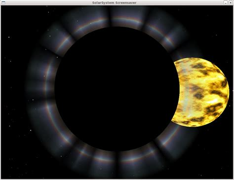 V0 Venus solarsystem screensaver