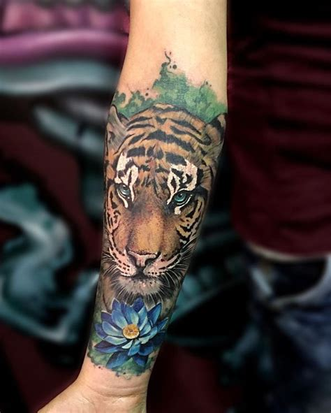 tiger tattoo meaning and best designs flowertattooideas com