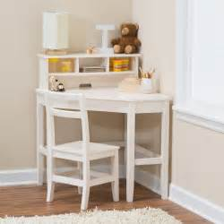 corner desk with chair classic playtime juvenile corner desk and reversible hutch