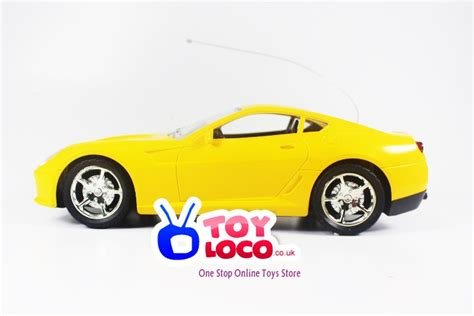 Mainan Remote Rc Yellow Roadster Car remote model car chion roadstar type