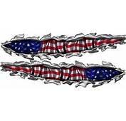 American Flag Decals For Boats Boat Usa Vinyl Graphics  Xtreme