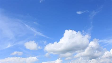 running man  sky background stock footage video