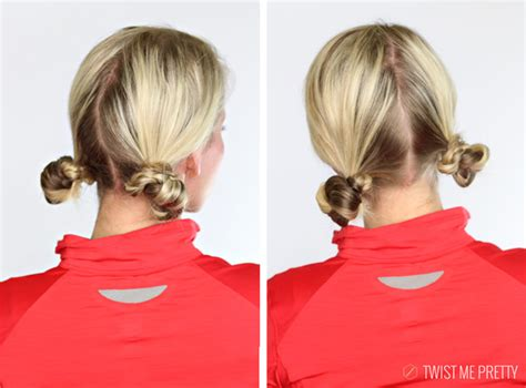 big bang theory penny messy bun 5 workout hairstyles twist me pretty