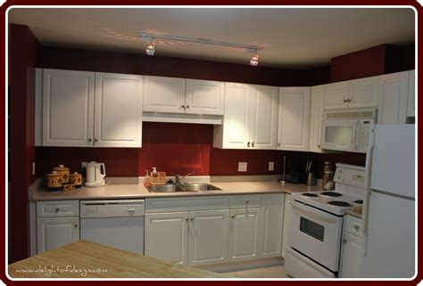 red wall kitchen ideas white kitchen cabinets red walls quicua com
