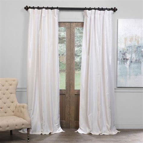 half off drapes vintage silk window treatment bellacor