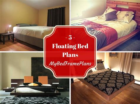 floating bed frame plans 5 free floating bed frame plans free bed frame plans