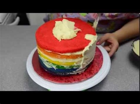 youtube membuat marmer cake resep rainbow cake youtube