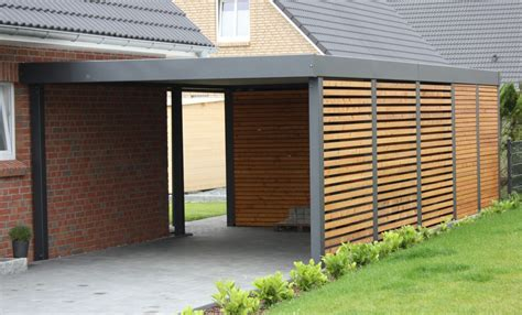 Enclosed Car Port enclosed carport for the home