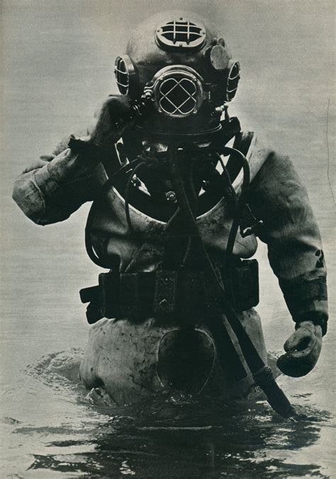 us navy mark v standard diving dress circa 1930s
