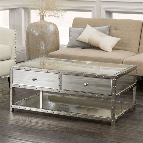25 best ideas about mirrored coffee tables on