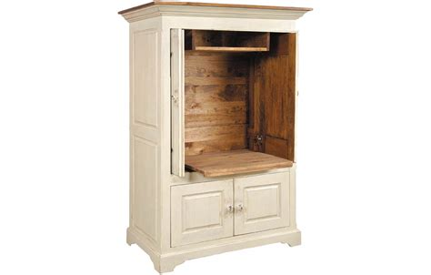 Pocket Door TV Armoire   Kate Madison Furniture