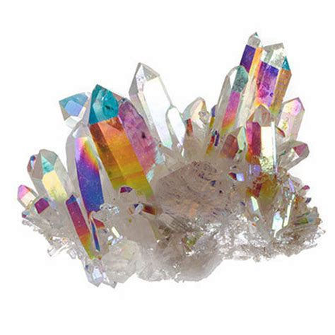 aura crystals angel aura quartz crystal 03 large rainbow aura crystal