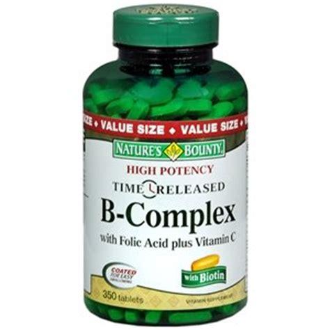 Garden Of Folic Acid Natures Bounty B Complex With Folic Acid Plus