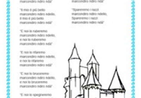 oh bel testo canzoni per bambini testo di canzoni per bambini da stare