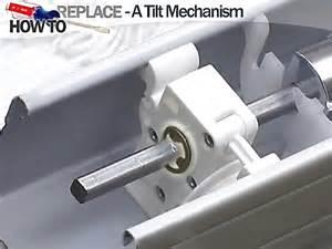 How To Fix Levolor Vertical Blinds How To Fix Blinds Replace A Tilt Mechanism Blindscom Diy