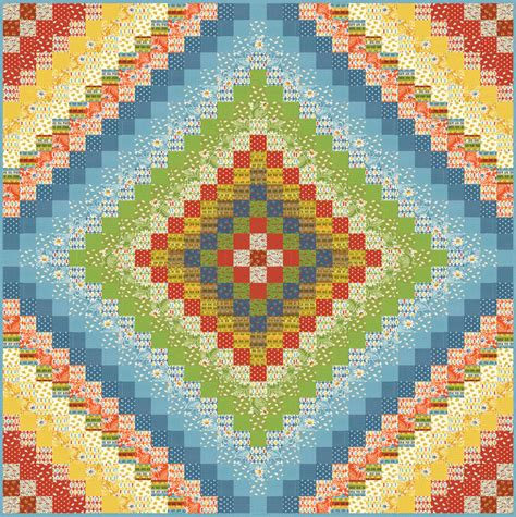 Trip Around The World Quilt In A Day by Welcome To American Patterns Quilt Kits