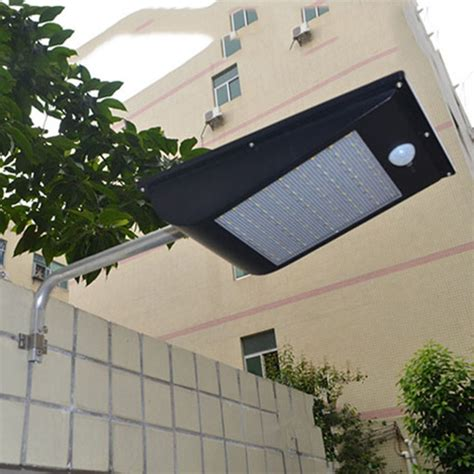 solar motion sensor light outdoor 81 led solar street light 1000lm waterproof pir motion