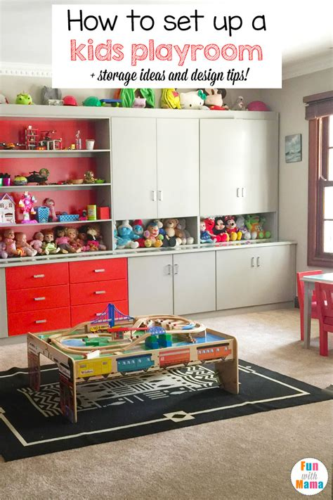 how to design a room how to set up a kids playroom fun with mama