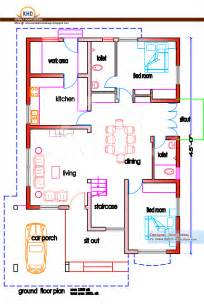home plan and elevation 1950 sq ft kerala home design