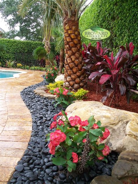 tropical backyard ideas front yard landscape tropical landscape miami by