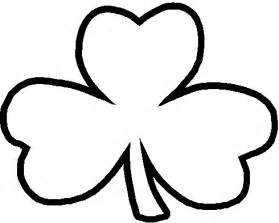 Shamrock Outline Clipart by Shamrock Outline Cliparts Co